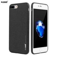 Memumi用iphone 8 8プラス戻るケースiphone用7 7プラス薄いハードケース高級fundaのcapaで鉄板用マグネットホルダ