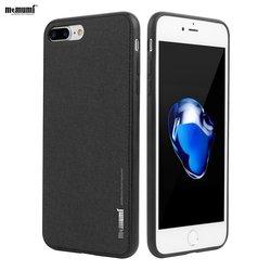 Memumi pour iPhone 8 8 Plus étui pour iPhone 7 7 plus mince étui rigide de luxe Funda capa avec feuille de fer pour support magnétique