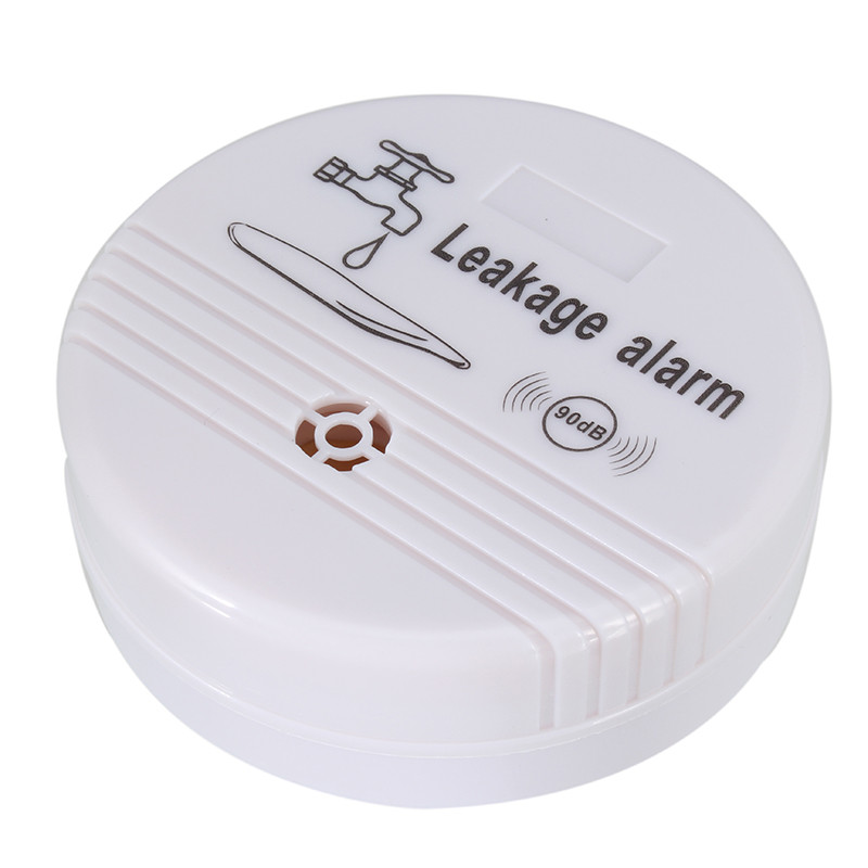 The Water Leakage Detection Alarm Flood Alarm 90DB ABS Wireless Independent Water Leak Sensor Overflowing Detector Protector water leak alarm wired water leakage detector system water pipe leak detection