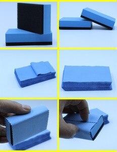 Image 5 - Glass coating application cloth crystal coating agent cloth glass coat microfiber cloth nano car suede cloth(10PCS/LOblue color)