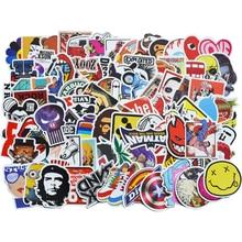 100 шт./упак. классические модные граффити наклейки для мото автомобиля и чемодана классные забавные игрушечные наклейки Наклейка s Наклейка на скейтборд gxtz