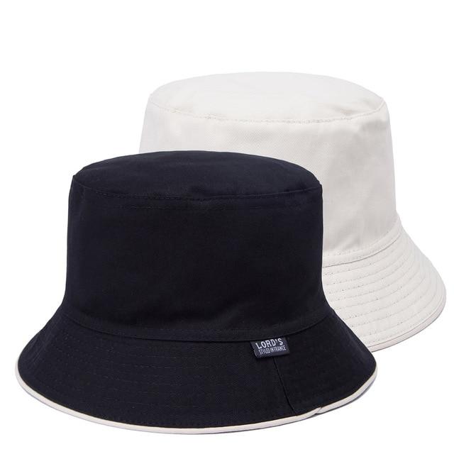 Bucket Hat Men Reversible Sun Cap 100% Cotton Fisherman Hats Women Outdoors  Bob Chapeau 7070cd28f2d2