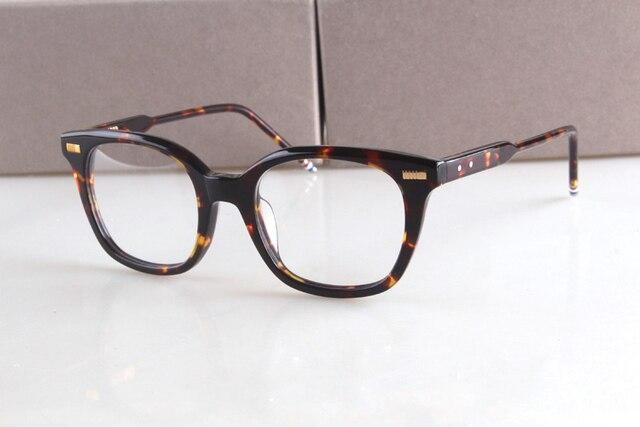 9be49179d9ada 2017 Marca New York TB405 THOM Óculos Armações de Óculos de prescrição Do Vintage  Frame Ótico