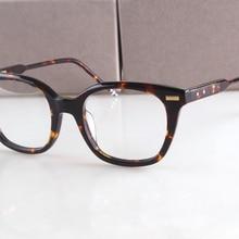 e711a28f1d1 2017 New York Brand THOM Eyeglasses Frames Vintage prescription Glasses  TB405 Optical Frame Oculos De Grau