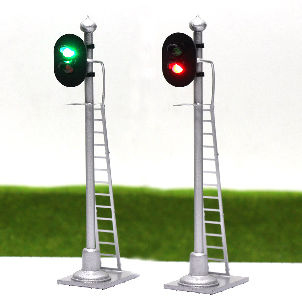 Jtd433 2pcs model traffic light traffic singal model railroad jtd433 2pcs model traffic light traffic singal model railroad train signals 3 lights block signal 143 o scale railway modeling in model building kits from arubaitofo Image collections