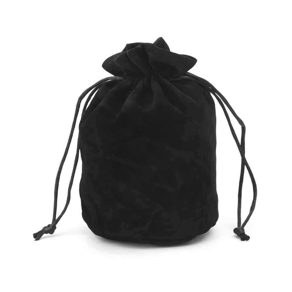 For Dungeons And Dragons Velvet Dice Bag Jewelry Packing Drawstring Bag Board Game