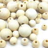 DIY 6/8/10/12/14/16/18mm Cheap Fashion Hot Beads Natural Round Loose Wood Beads for Jewelry Making Bracelet Necklace Accessories