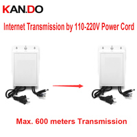 Outdoor power adapter 12 V 2A sieci transmisji przez 110-220 V przewód do 600 m PLC DC 12 V moc nadajnika sieci dla cctv