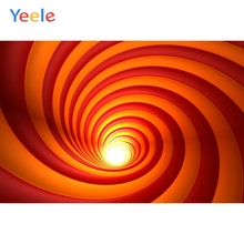 Yeele Science Fictions Spiral Space-time Tunnel Red Personalized Photographic Backdrops Photography Backgrounds For Photo Studio