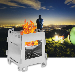 Stainless Steel Wood Stove Por