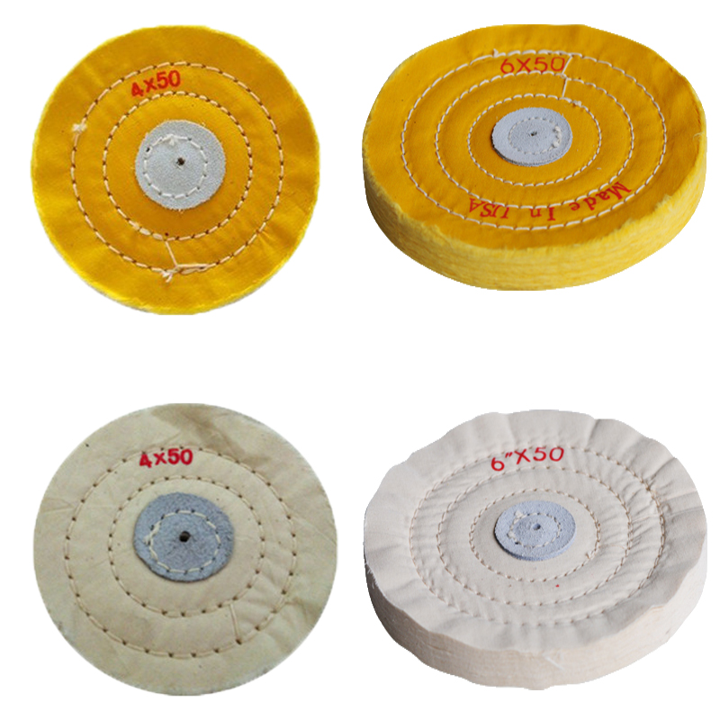 4 Quot Buffing Polishing Wheels For Bench Grinder Brand New