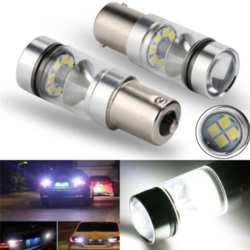 Led-Lamp Car-Accessories Canbus-Bulb P21W 1156 Ba15s White 100W 382 DRL Turn To
