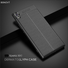 sFor Sony Xperia XA1 Case Shockproof PU Leather Anti-knock Phone Case For Sony Xperia  XA1 Cover For Sony Xperia XA1 G3112 G3116 смартфон sony g3112 xperia xa1 black графитовый черный