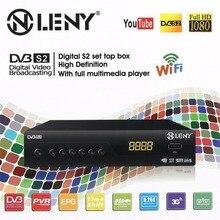 ONLENY HD DVB-S2 Receiver HEVC H.265 Kombi Receiver HDMI 1080P TV Box VGA AV Dolby MM Tuner Receiver TV BOX