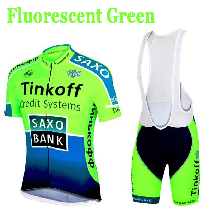 Cycling Jersey Saxo-Bank Tinkoff Cycling-Clothing/cycle-Clothes Sportswear/racing-Bike