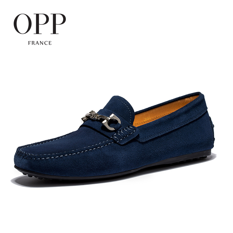 OPP 2017 Men's Flats Casual Comfortable Driving Shoes Men's Leather Loafers For Men Shoes moccasins Summer Mens Footwear northmarch classic spring summer moccasins men loafers shoes male flats genuine leather casual driving shoes mens footwear