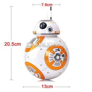 Image 4 - שדרוג 20.5cm שלט רחוק רובוט BB 8 כדור RC אינטליגנטי רובוט 2.4G BB8 עם קול פעולה איור BB 8 מתנת צעצועים לילדים