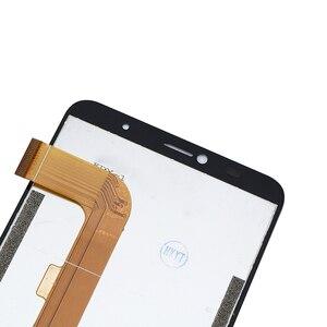 Image 5 - Alesser para leagoo m9 pro display lcd e montagem da tela de toque peças reparo com ferramentas + adesivo para leagoo m9 pro telefone + filme