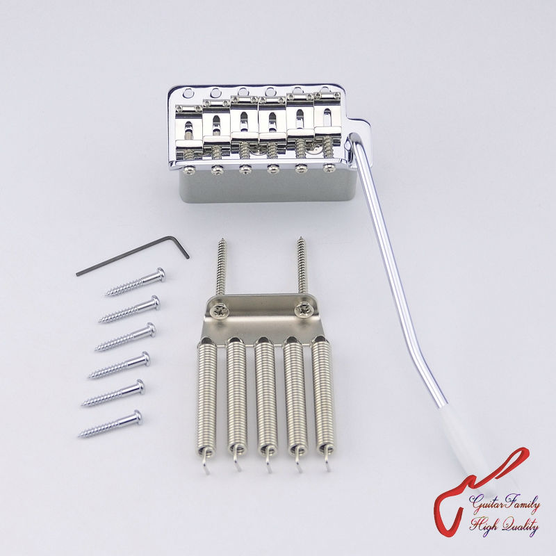 Genuine Original GOTOH GE101T Vintage Style Electric Guitar Tremolo System Bridge  ( Chrome ) MADE IN JAPAN genuine original floyd rose 5000 series electric guitar tremolo system bridge frt05000 black nickel cosmo without packaging