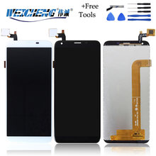 WEICHENG 720*1440 For Oukitel K5 LCD Display and Touch Screen Assembly Mobile Phone Accessories For K5 lcd+free Tools+Adhesive(China)