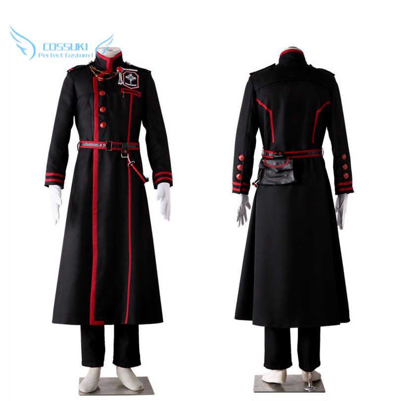 D Gray Man Yu Kanda Cosplay Costume Stage Clothes Perfect Custom for You