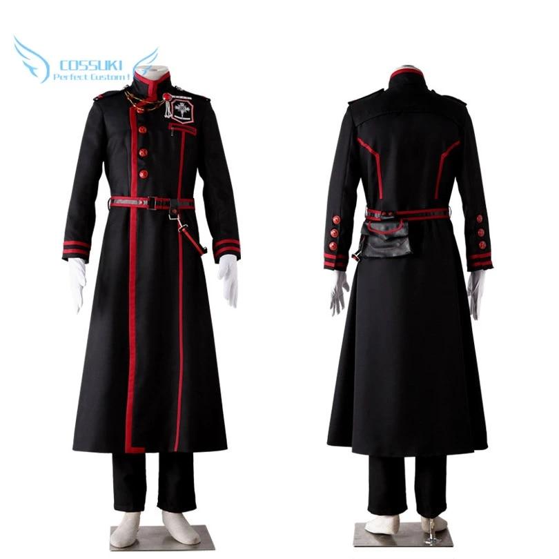 D.Gray-man Yuu Kanda Cosplay costume Kostüm set Kleidung anime top cloth neu new