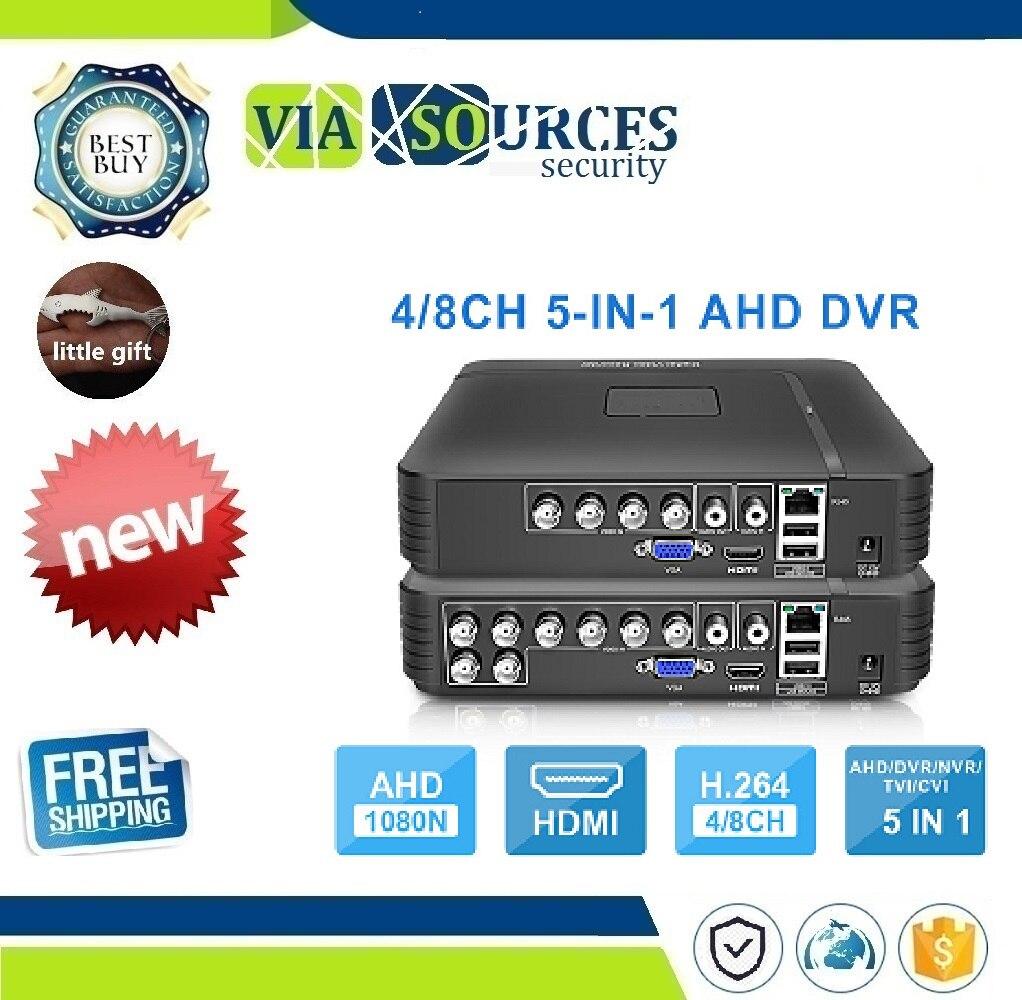 AHD 1080N 4CH 8CH CCTV DVR Mini DVR 5IN1 For CCTV Kit VGA HDMI Security System Mini NVR For 1080P IP Camera Onvif DVR PTZ H.264AHD 1080N 4CH 8CH CCTV DVR Mini DVR 5IN1 For CCTV Kit VGA HDMI Security System Mini NVR For 1080P IP Camera Onvif DVR PTZ H.264