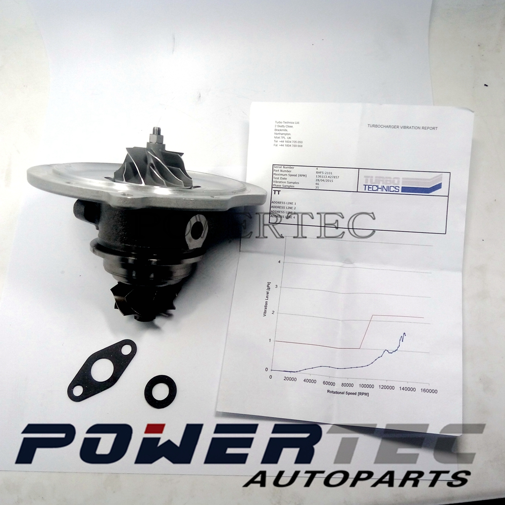 RHF5 CHRA VC 420037 VA-420037 VB-420037 VC-420037 8972402101 turbo core cartridge for Isuzu D-MAX 2.5 TD 136 HP 4JA1-L 2004 free ship turbo cartridge chra for isuzu d max rodeo pickup 2004 4ja1 4ja1 l 4ja1l 2 5l rhf5 rhf4h vida 8972402101 turbocharger