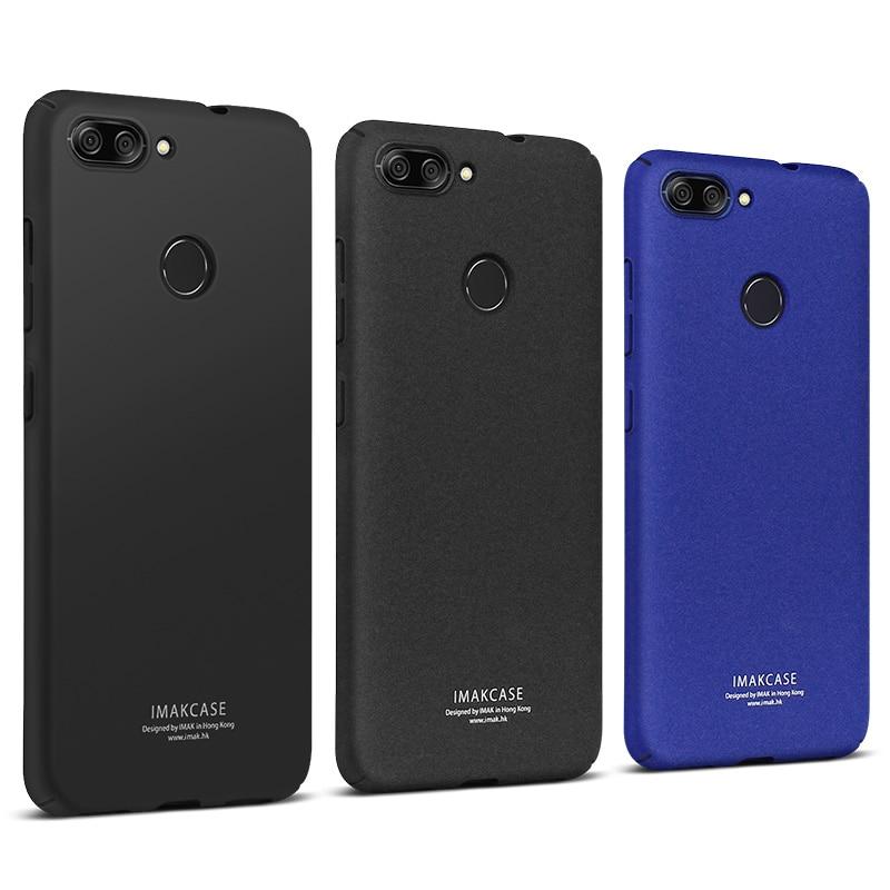 IMAK Ковбой матовый чехол для телефона ASUS M1 бампер чехол + держатель телефона + Экран Protector для Asus Zenfone Max плюс M1 Случае