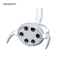 TDOUBEAUTY High Quality Dental Dedicated LED Oral Light Lamp 6 LED for Dental Unit Chair CX249 6 Free Shipping