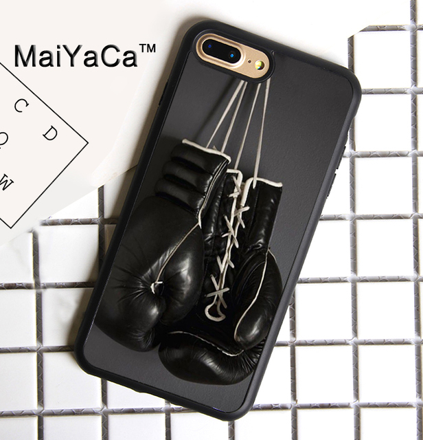 1521e0539ce MaiYaCa Boxing Gloves Soft TPU Phone Case for Apple iPhone 8 Plus Luxury  Cover for iphone 8plus Back Shell