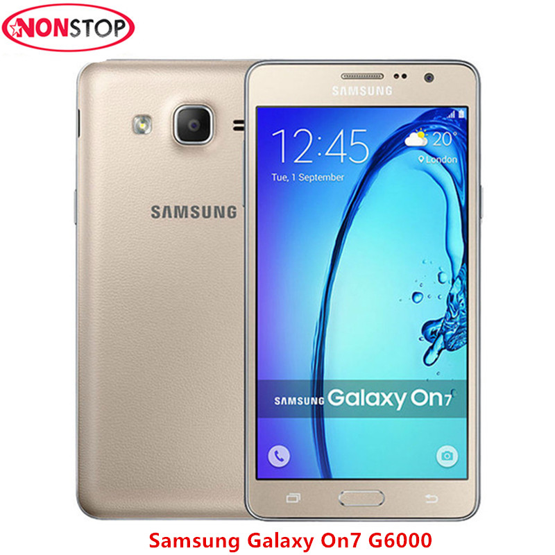 Samsung Galaxy On7 G6000 Original Unlocked Mobile Phone 8GB/16GB ROM 13MP Camera Quad Core Samsung Galaxy On 7 Cell Phone
