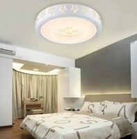 Светодиодная потолочная лампа с водным кристаллом Bauhinia для дома  гостиной  спальни  кабинета  столовой  прохода  спальни  потолочный светиль...