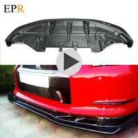 Car Accessories R35 GTR Carbon Fiber Front Lip Car Styling Body Kit For R35 GTR Front Lip CF 09 11 GTR AutoSelect Bottom Lip