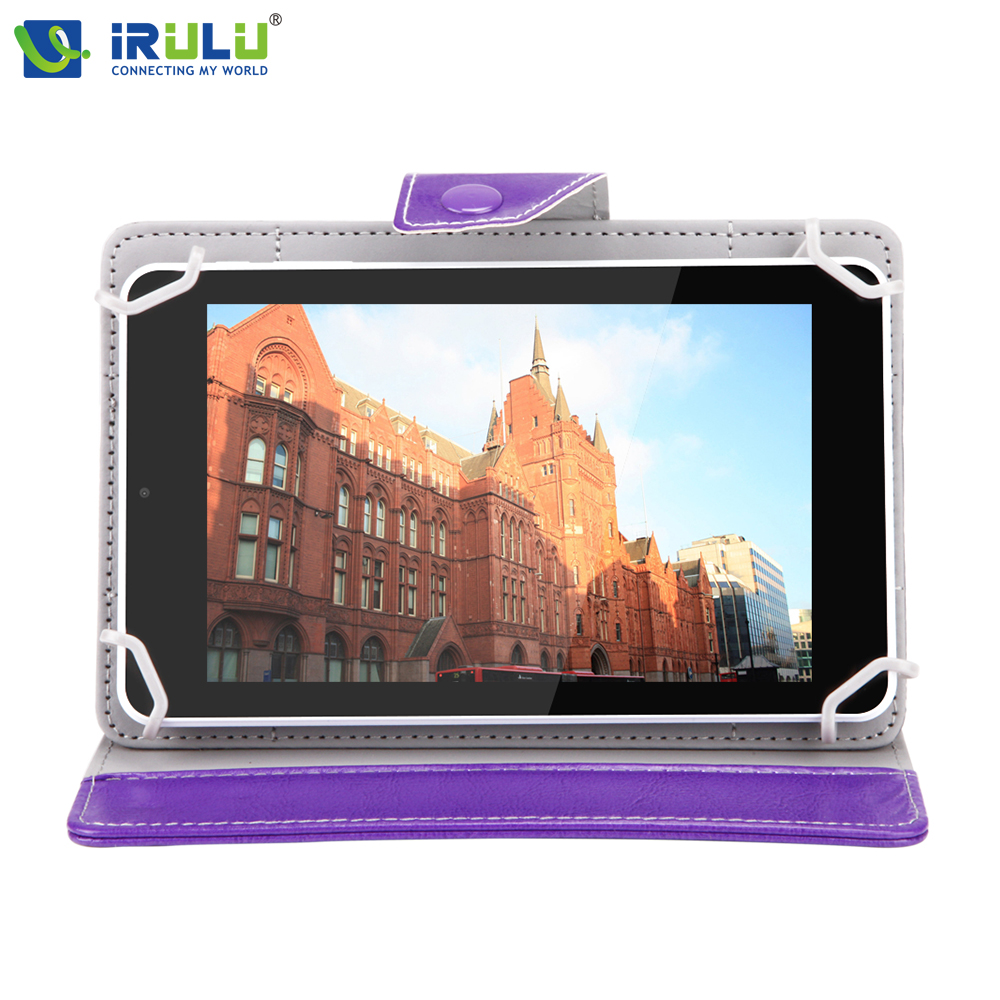iRULU eXpro X4  7'' Android 5.1 IPS Tablet PC Quad Core Dual Cam 1G RAM 16G ROM Tablet Bluetooth 4.0 Wifi with Protective Case irulu expro 7 tablet allwinner android 4 4 quad core tablet 8gb rom dual cam wifi tf card otg with colorful cases hot seller