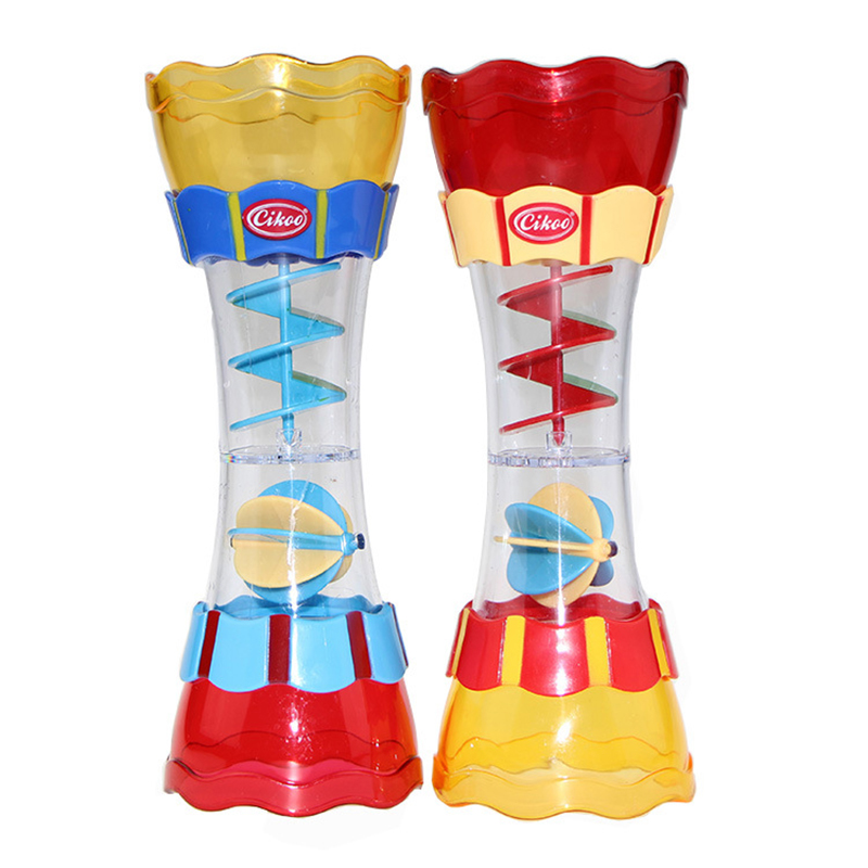Cikoo children bathroom bathing toys water leak column baby swivel water cup kaleidoscope toys WJ512