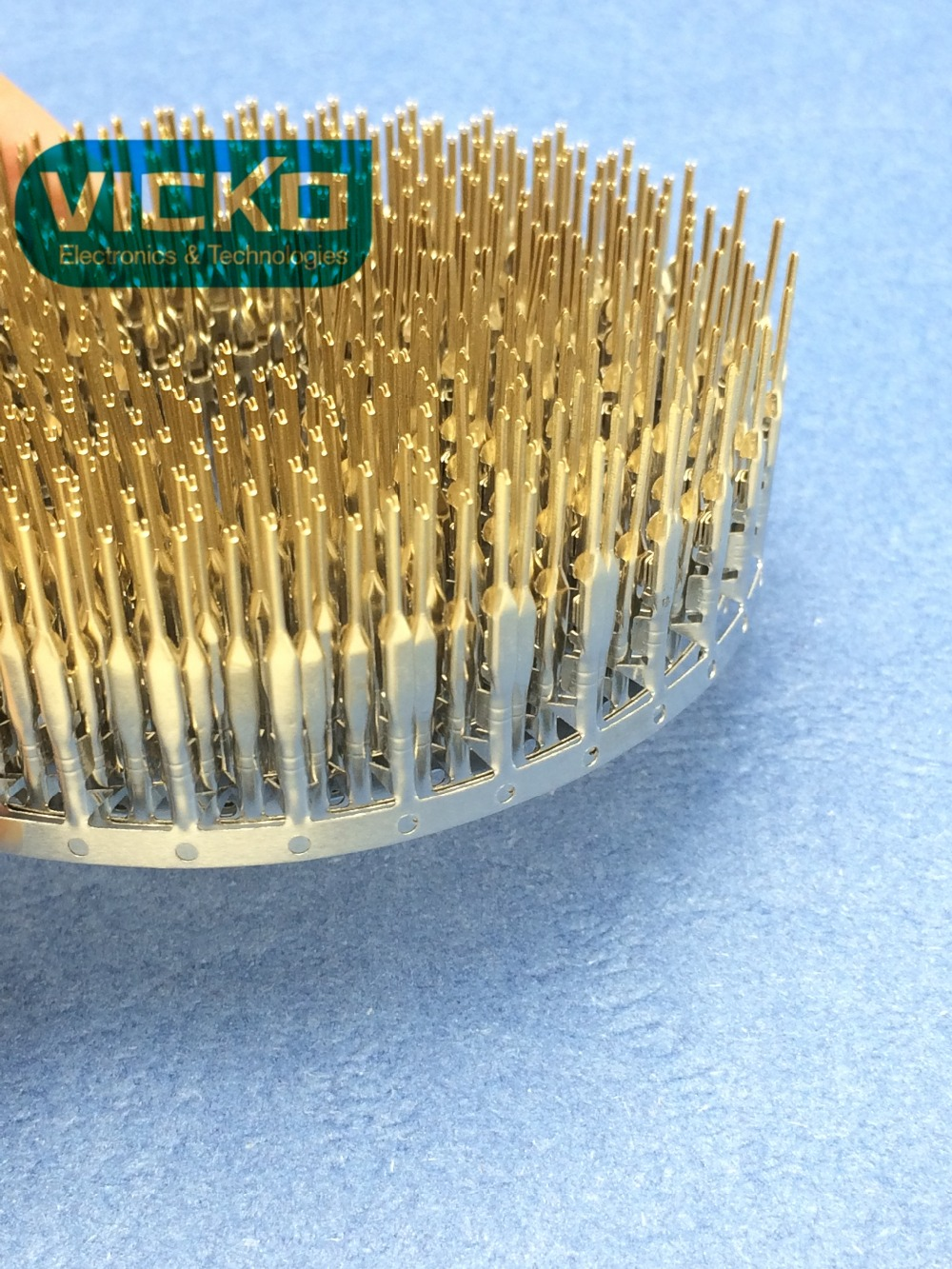 [VK] 500pcs Male Pin Dupont Connector Gold Plated 2.54mm