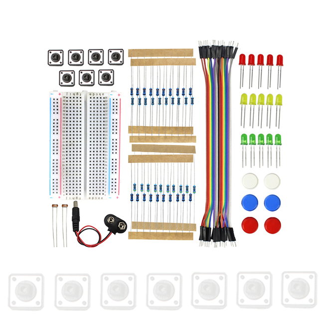 Starter Kit Uno R3 Mini Breadboard LED Jumper Wire Button for arduino Diy Kit school education lab