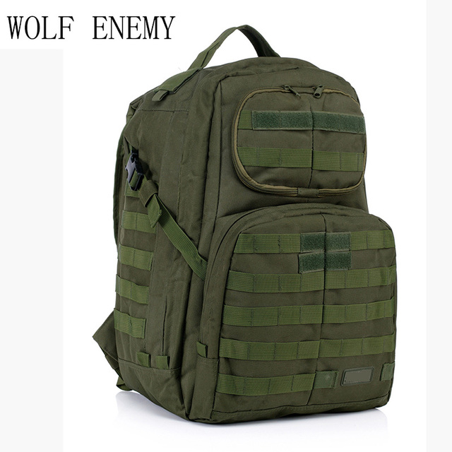 Hot Sale Men Outdoor Style Miliatry Camo Camping Bag Patrol 3-Day Tactical  Molle Camel Pack Assault Camoflaage Backpack 1f8e8e4656