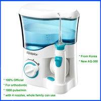 Корейский Aquapick AQ 300 гигиена полости рта стоматологической помощи Вода Flosser гидроабразивной 110 ~ 240 В