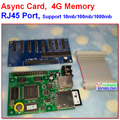 Async + sincronização dois modo de controlador rgb, 512*128, 256*128 área de controle, 8 hub75, 4G de memória, apoio iamges, vídeo, programa de texto