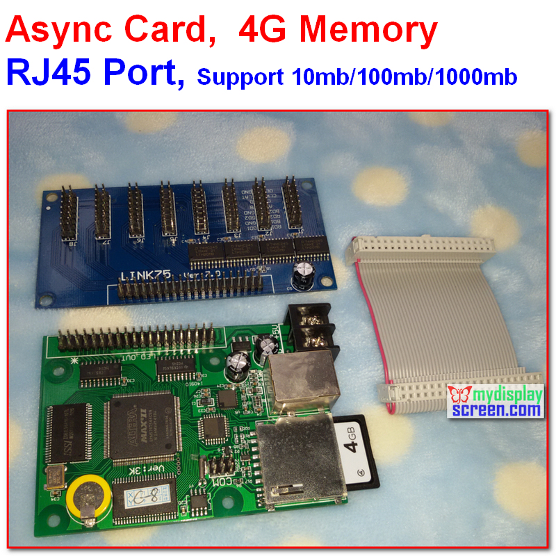 Async + sync two mode rgb controller,512 * 128, 256 * 128 control area, 8 hub75 ,4G memory, support iamges, video, text programAsync + sync two mode rgb controller,512 * 128, 256 * 128 control area, 8 hub75 ,4G memory, support iamges, video, text program