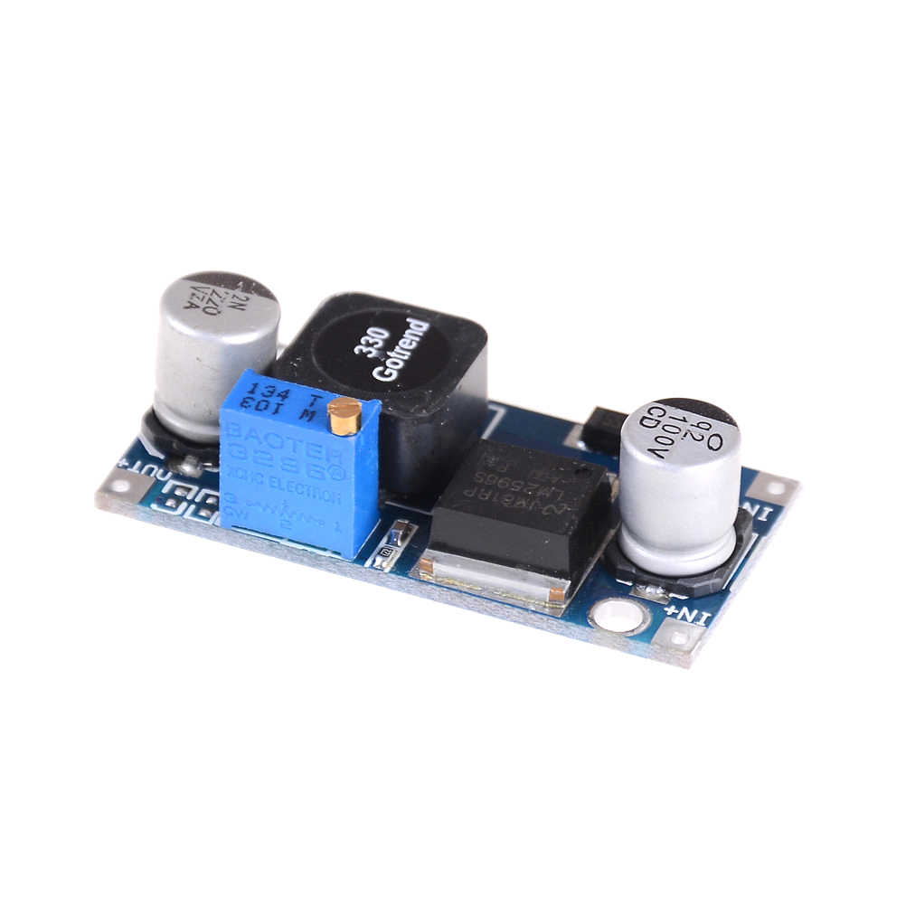 Output 1.23-35V Adjustable Step-Down Power Supply Modul Tegangan Regulator LM2596S DC-DC Buck Converter Step Down power Supply