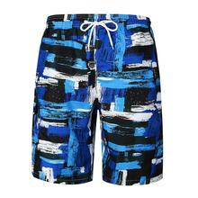 Summer Shorts Men Trend Graffiti Pants Beach Mens Casual Short Fashion Loose