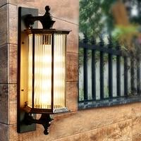 Park street Outdoor Wall Lamp indoor lighting Waterproof Balcony Led Wall Lights Courtyard Villa Door Lamp Exterior Wall sconce