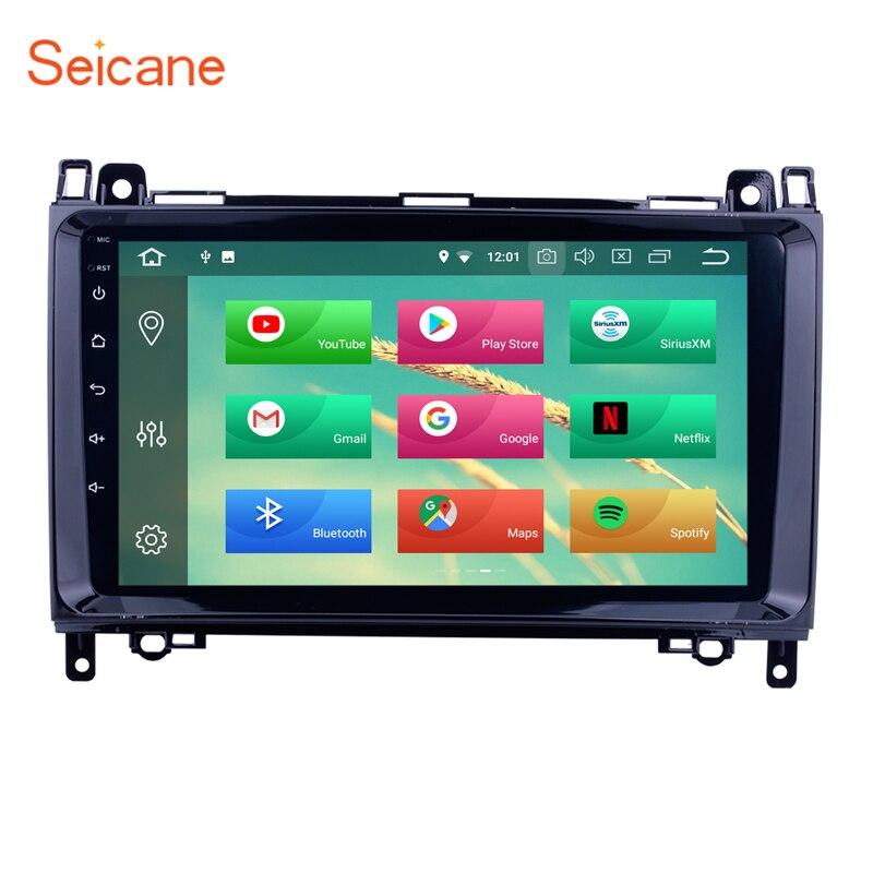 Seicane 9 Android 8,0 HD Автомобильный gps радио для 2004-2012 Mercedes Benz W169 A150 A160 a170 A180 A200 с 4 ГБ + 32 ГБ