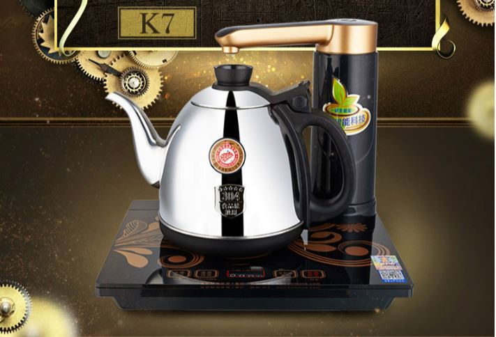 Full intelligent electric teapot automatic water tea sets kettle full stove Overheat Protection automatic water filled electric kettle set of the tea with stove