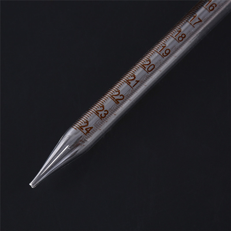 1pc 8 Style Glass Graduated Pipette Lab Chemistry Dropper Dispensing