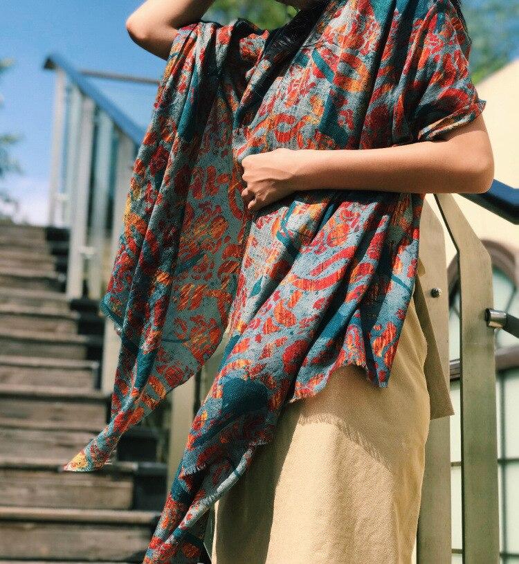 100% kaschmir schal Frauen Luxus Herbst Winter Warme Schals Schal Hijab Poncho 200*110cm-in Damenschals aus Kleidungaccessoires bei AliExpress - 11.11_Doppel-11Tag der Singles 1