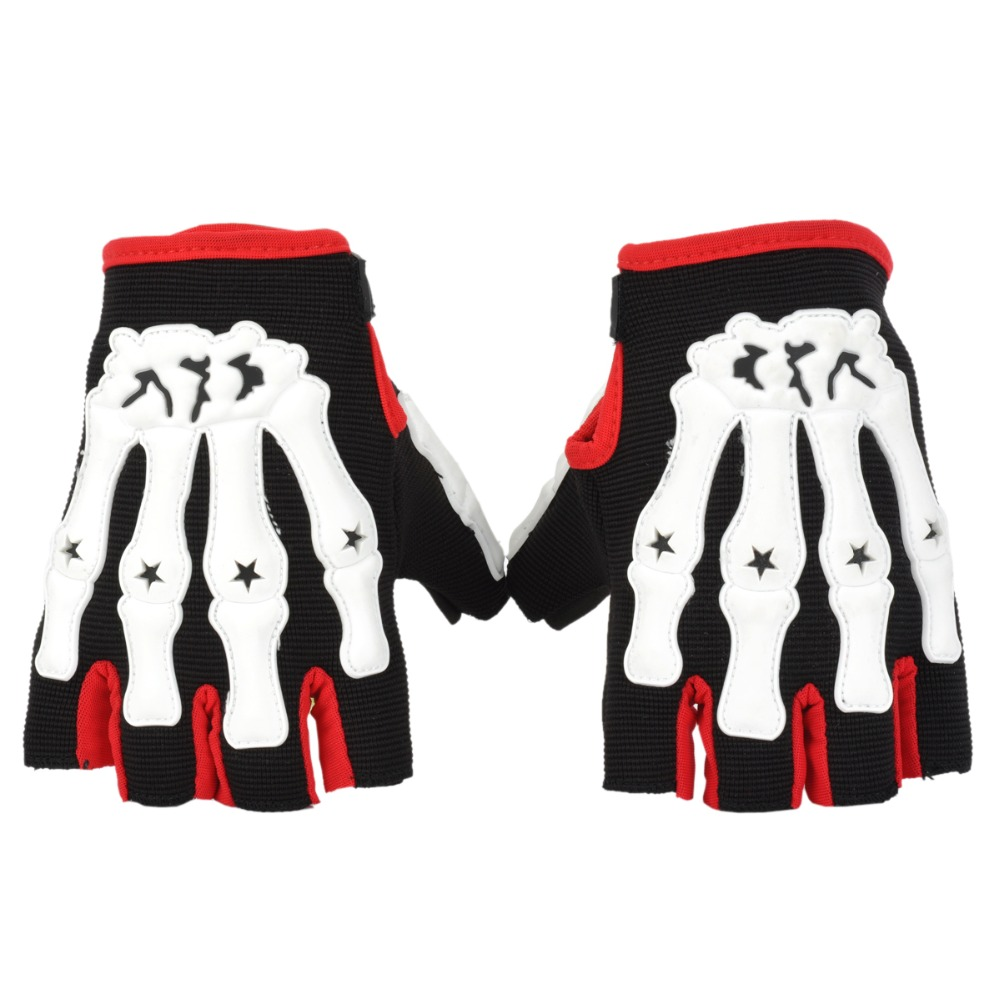 Motorcycle gloves review 2016 - Skeleton Motorcycle Gloves